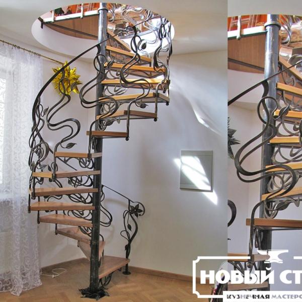 Винтовая лестница модерн
