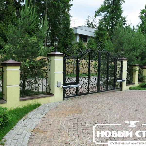 Ворота и забор