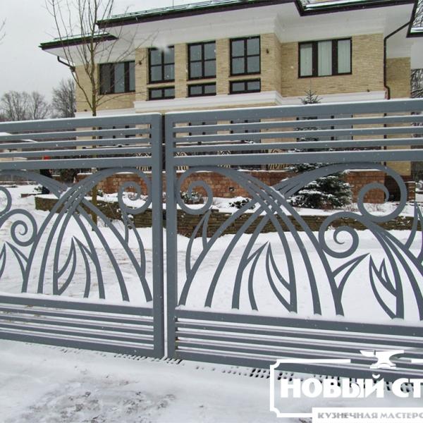 Ворота в поселке Барвиха