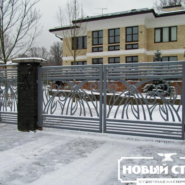 Ворота в Барвихе